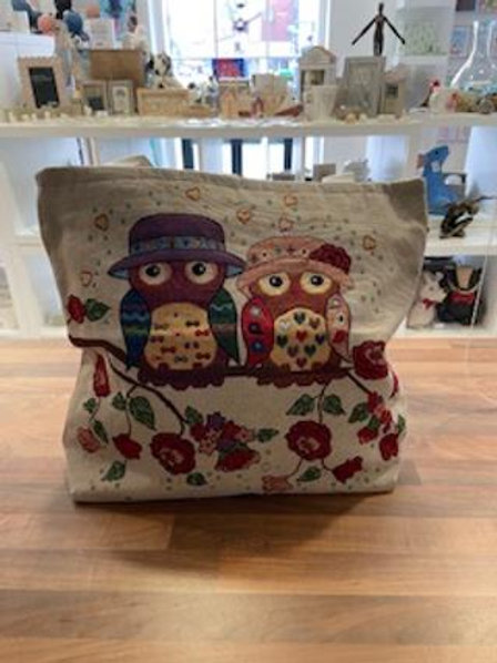 Sunlover Owl Tote Bag