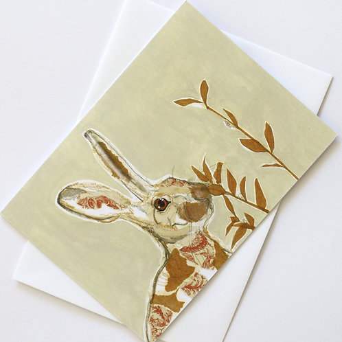 Hare in the Sweater - Hannah Hare Wild Card