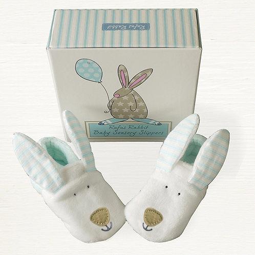 Rufus Rabbit Sensory Slippers - Boy