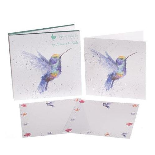 Wrendale Hummingbird Notecard Pack