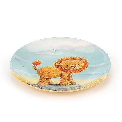 Jellycat The Very Brave Lion Melamine Plate