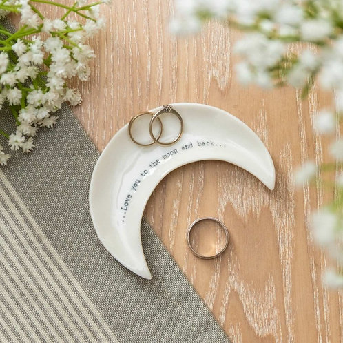 Love you to the moon... Trinket Dish