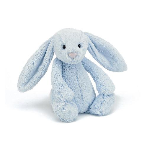 Jellycat Bashful Blue Bunny - Various Sizes