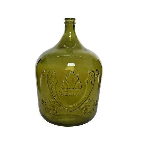Recycled Merlot Glass Bottle