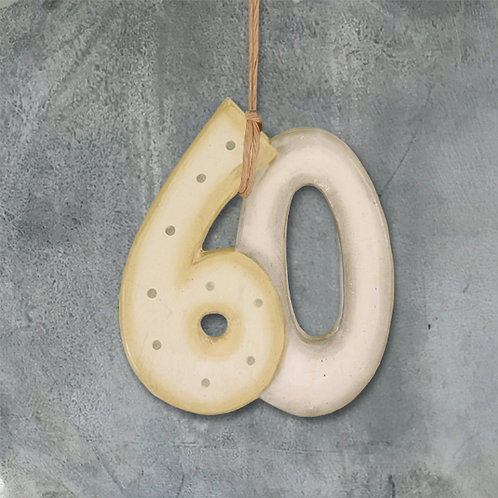 East of India Number on string - 60