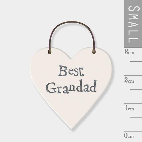 East of India Little Heart - Best Grandad