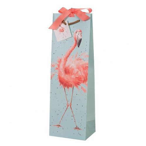 Wrendale Bottle Bag - Flamingo