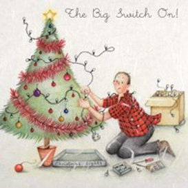 Berni Parker The Big Switch  On Card