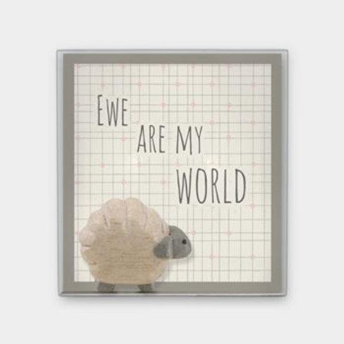 Ewe are my world Boxed Sheep