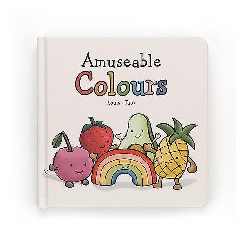 Jellycat Amuseable Colours Book