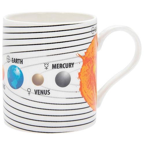 Educational Solar System Mug