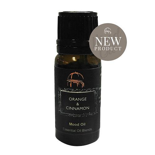 Harrogate Candle - Orange and Cinnamon Essential Mood Oil