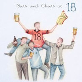 Beers and cheers at... 18 Berni Parker Card