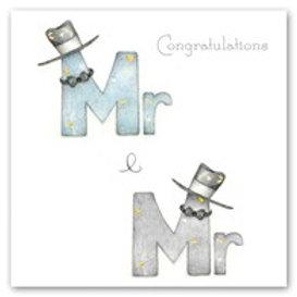 Mr and Mr Berni Parker Card