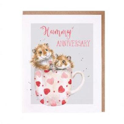 Hammy Anniversary... Wrendale Card