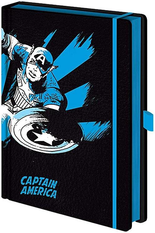 Captain America Premium A5 Notebook