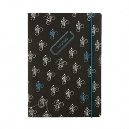 Lucy Pittaway A5 Cycling Notebook