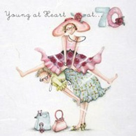 Young at heart at... 70 Berni Parker Card