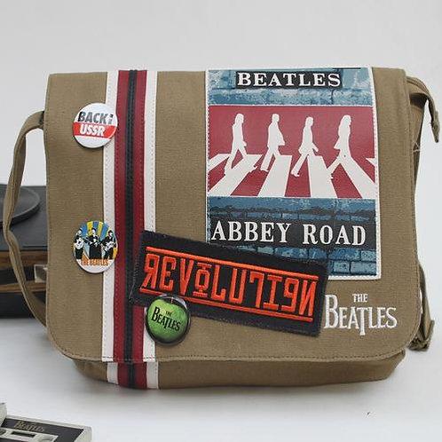 The Beatles Abbey Road Canvas Satchel