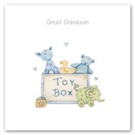 Great Grandson Berni Parker Card