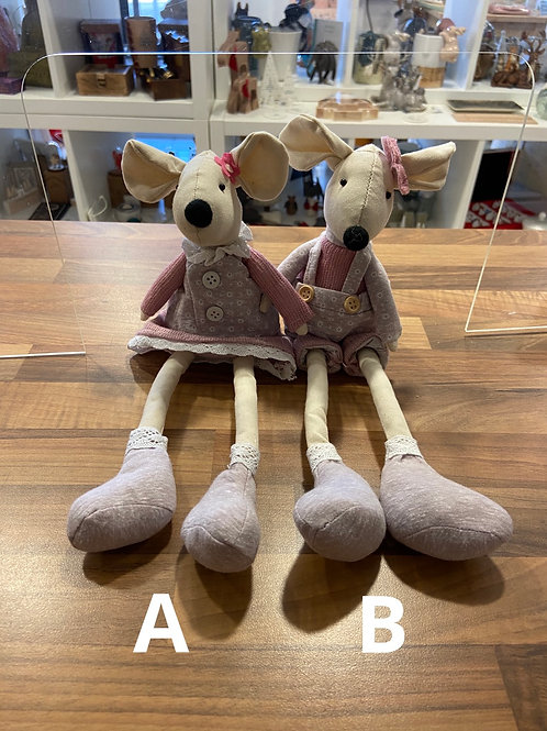 Sitting Fabric Mice