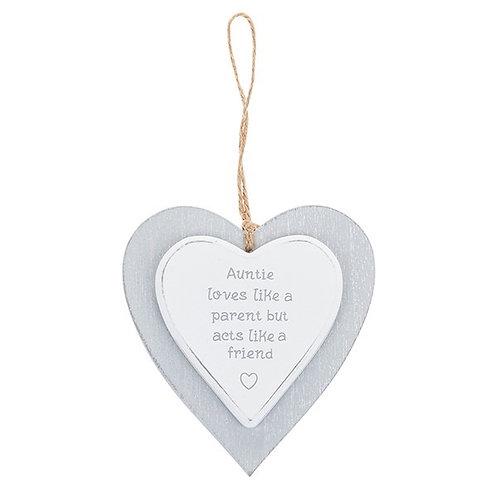 Cool Grey Heart - Auntie