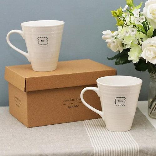 Mr and Mrs Mugs Set