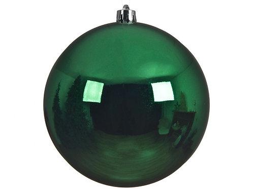 Shatterproof Plain Large Green Bauble (20cm)