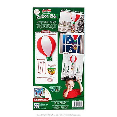 Elf on a Shelf Peppermint Balloon Ride