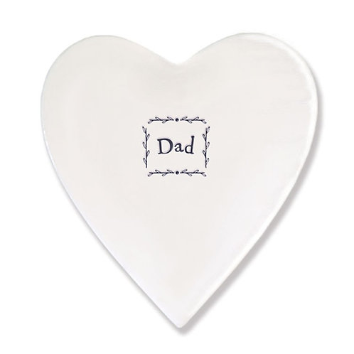 Dad Heart Coaster