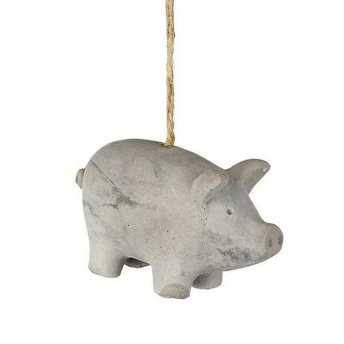 Concrete Pig Hanger