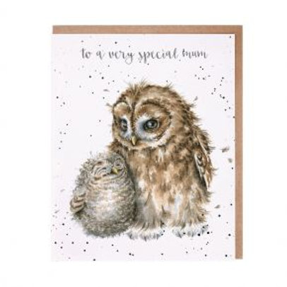 Wrendale Owl always love you Card