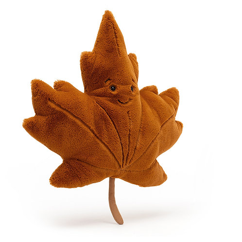 Pre Order - Jellycat Woodland Maple Leaf - Various Sizes
