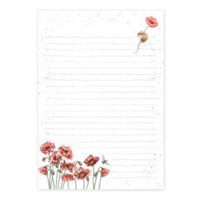 Wrendale Mouse and Poppy Jotter Pad