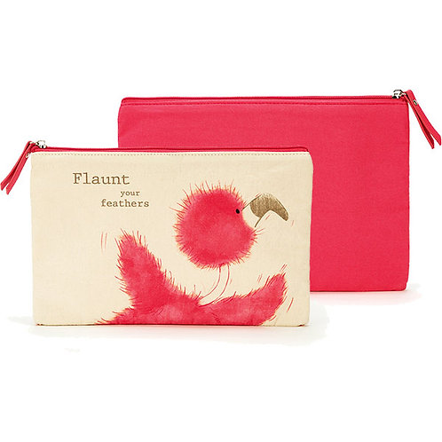 Jellycat Flaunt Your Feathers Large Pouch