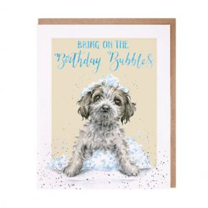 Wrendale Birthday bubbles Card