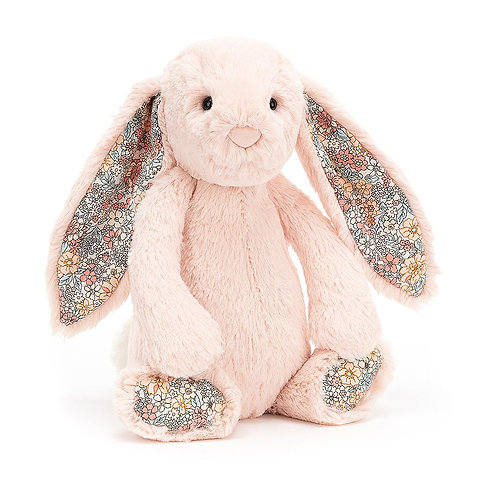 Jellycat Blossom Blush Bashful Bunny - Various Sizes