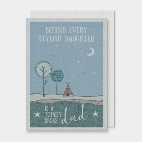 Stylish Daughter East of India Card
