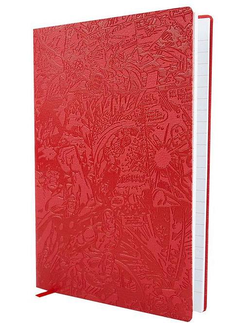 Marvel Red Flexi Notebook