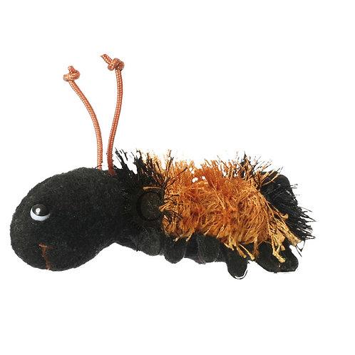 Wooly Bear Caterpillar Finger Puppet