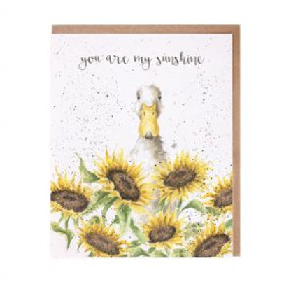 You are my sunshine Wrendale Card