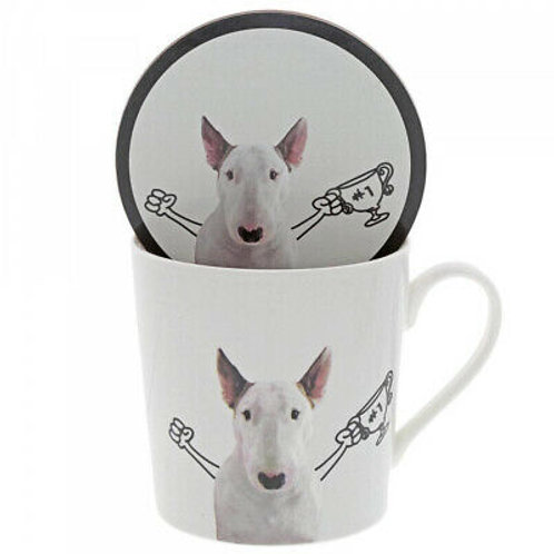 Jimmy the Bull The Winner Mug and Coaster Set