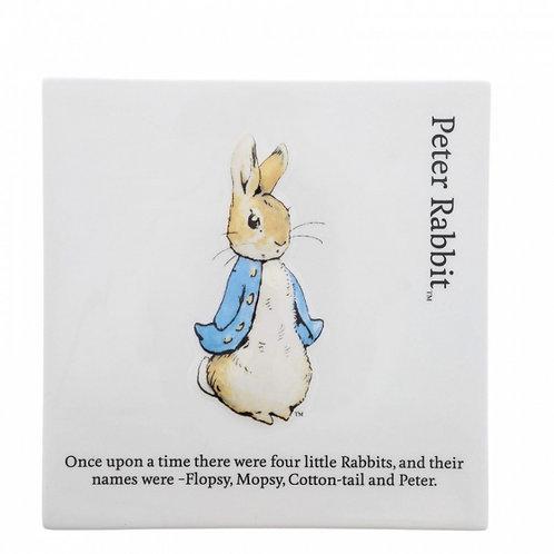 Peter Rabbit Wall Plaque