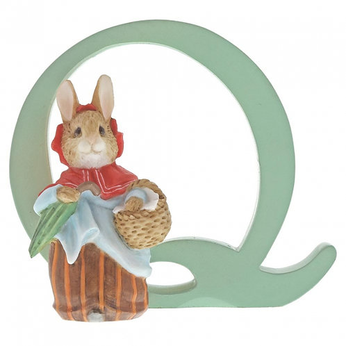 Beatrix Potter Ceramic Letters - Letter Q