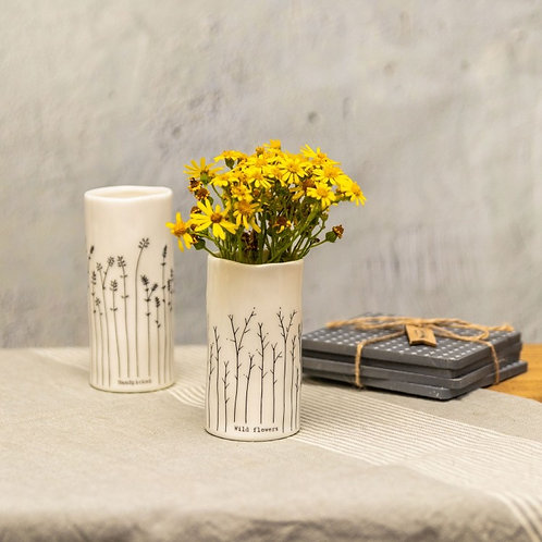 East of India Wild Flowers Vase