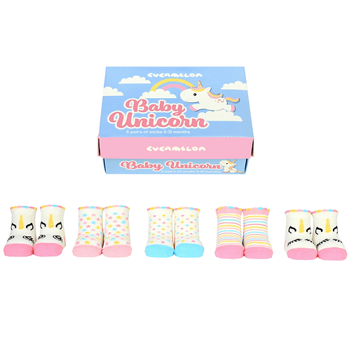Cucamelon Unicorn Baby Socks