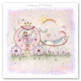 Happy Birthday - Pretty Princess Berni Parker Card