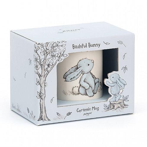 Jellycat Bashful Blue Bunny Mug