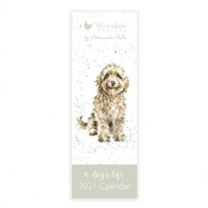 Wrendale A Dog's Life 2021 Slim Calendar