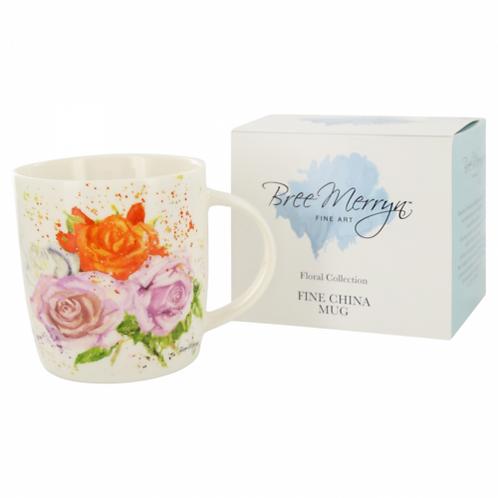 Bree Merryn Rose Bouqet Mug
